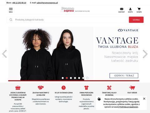 Promoexpress.pl odzieź pracownicza