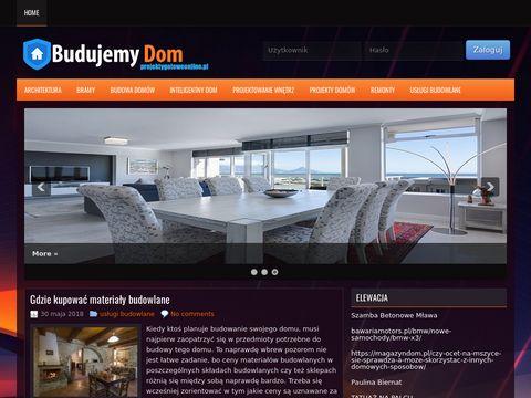 Projektygotoweonline.pl - projekty domów
