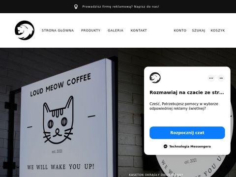 Prokonstrukcje.pl - reklama świetlna