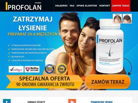 Profolan.pl - tabletki na porost włosów