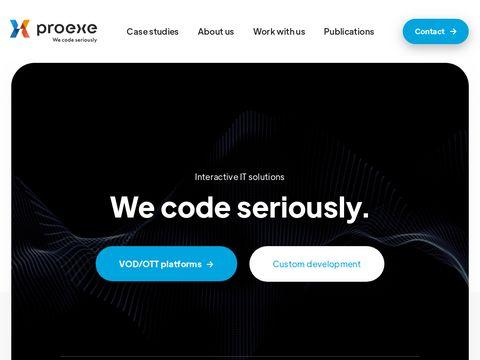 Proexe.pl - aplikacje iOS