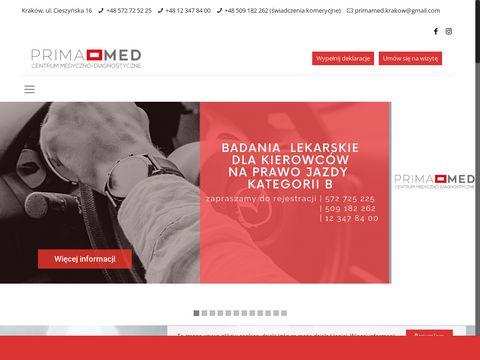 Prima-med.info centrum medyczne w Krakowie