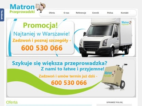 Przeprowadzkimatron.pl Warszawa