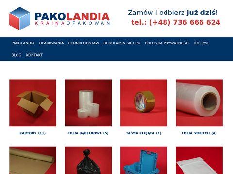 Przeprowadzkisklep.pl folia bąbelkowa