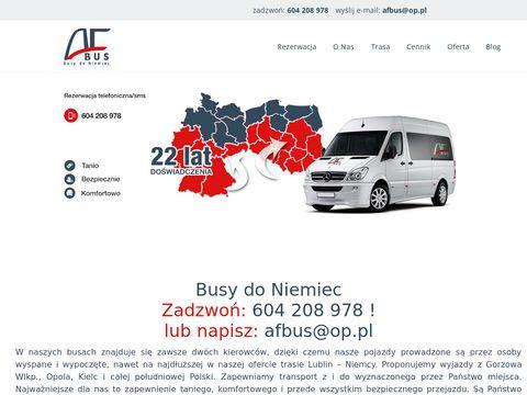 Przewozydoniemiec.net busy