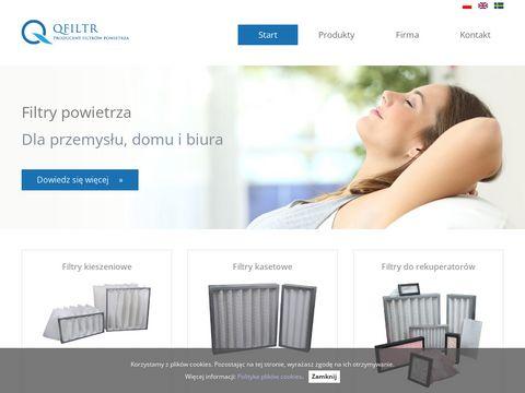 Qfiltr.pl filtry kieszeniowe
