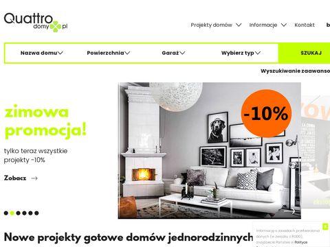 Quattrodomy.pl nowoczesne projekty