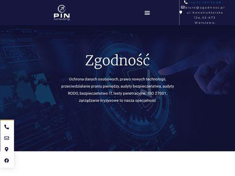 Zgodnosc.pl ochrona danych osobowych