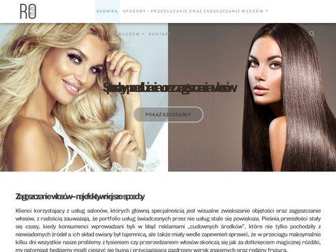 Zageszczaniewlosow.pl włosy w kitce