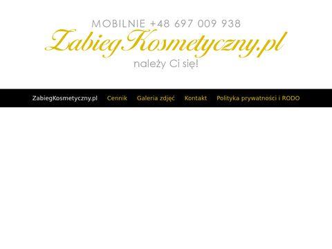 Zabiegkosmetyczny.pl usługi Warszawa