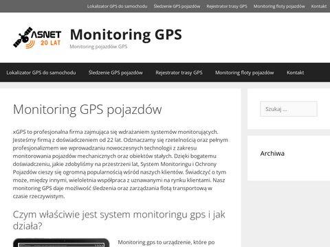 Xgps.pl monitoring pojazdów