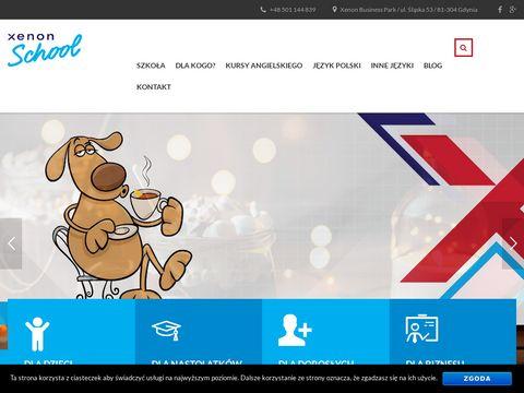 Xenon-school.pl szkoła Językowa