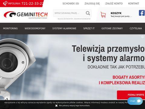 Geminitech.pl montaż monitoringu