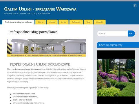 Galtim.com.pl - sprzątanie osiedli Warszawa