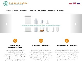 Global Pharma producent wody morskiej do nosa
