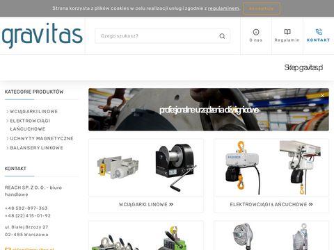 Gravitas.pl wciągarki ręczne Gebuwin