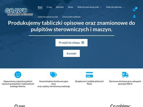 Firmagrawo.pl tabliczki opisowe