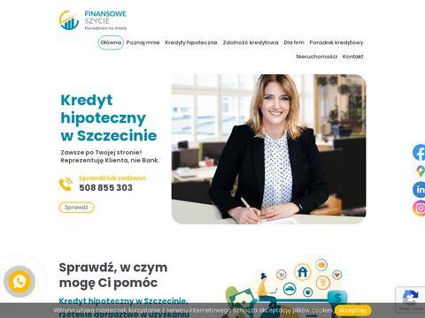 Finansoweszycie.pl kredyt hipoteczny Szczecin