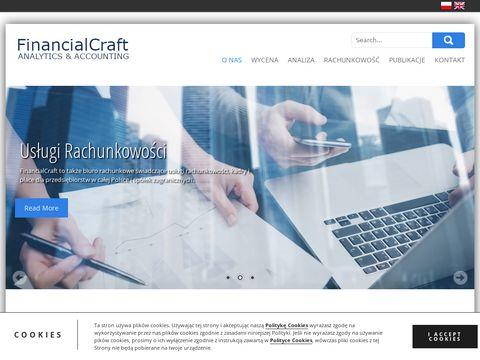 Financialcraft.pl wycena udziałów w spółce