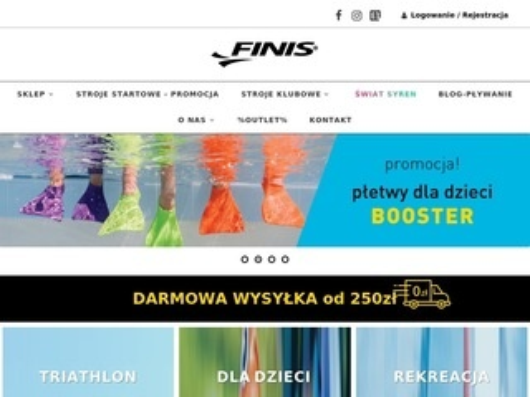 Finispoland.pl deski do nauki pływania