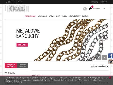 Fhoval.pl pasmanteria ozdoby krawieckie Łódź
