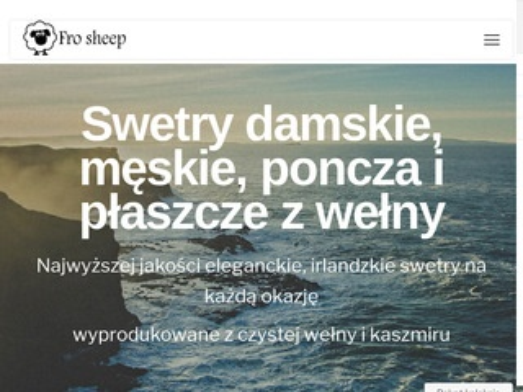 Frosheep.pl szaliki wełniane