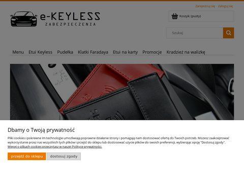 E-keyless.pl etui na kluczyki