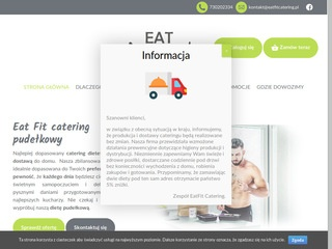 Eatfitcatering.pl dieta pudełkowa