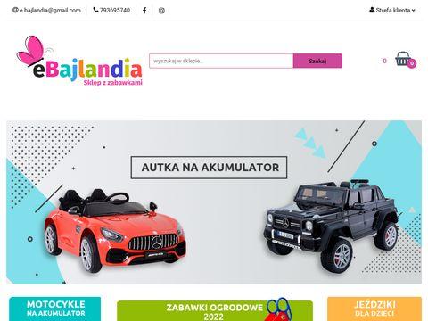 Ebajlandia.pl sklep internetowy z zabawkami