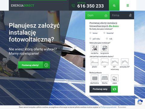 Energiadirect.pl ranking ofert sprzedawców