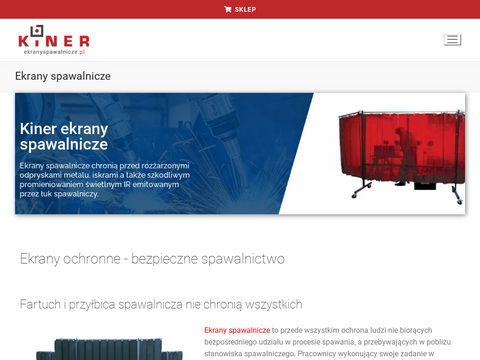 Ekranyspawalnicze.pl ochrona przed IR i UV