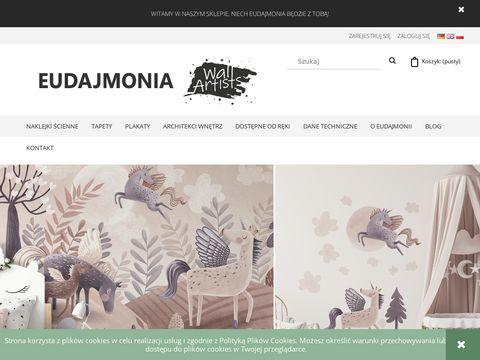 Eudajmonia.eu naklejki na ścianę fototapety