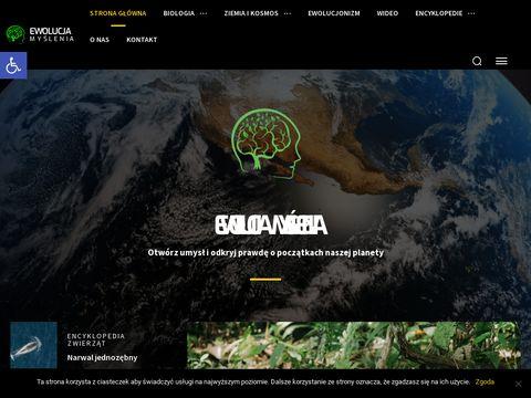 Ewolucjamyslenia.pl nauka o ziemi