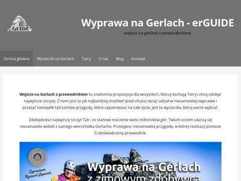 Erguide.pl - wejście na Gerlach z przewodnikiem