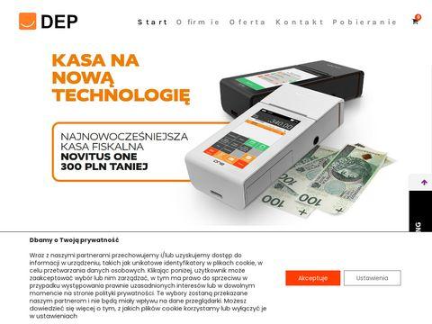 DEP sp. z o.o. kasy fiskalne Zduńska Wola