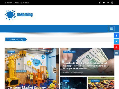 Donothing.com.pl odwołany lot odszkodowanie