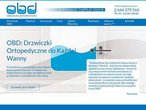 Drzwiczkiobd.pl wanna z drzwiczkami producent
