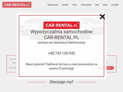 Car-rental.pl wypożyczalnia aut