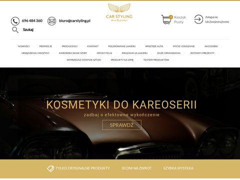 Carstylingshop.pl sklep z kosmetykami