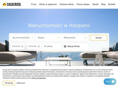 Casaensol.pl nieruchomości Costa Del Sol