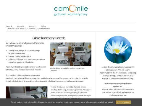 Camomile.pl makijaż ślubny manicure winylowy