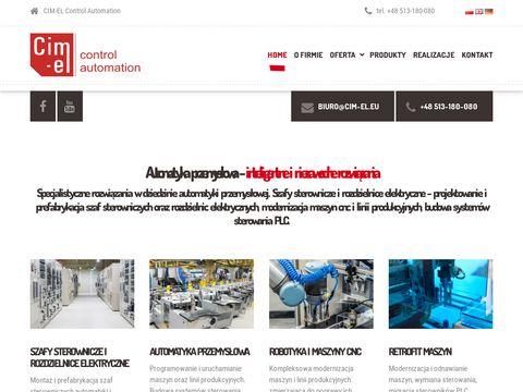 Cim-el.eu automatyka przemysłowa