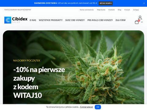 Cibidex.pl CBD sklep konopnY