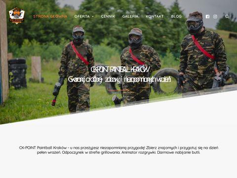 Ckpoint.pl paintball Kraków