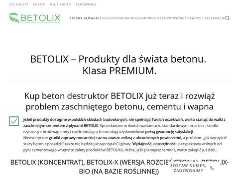 Betolix.pl kwas do betonu
