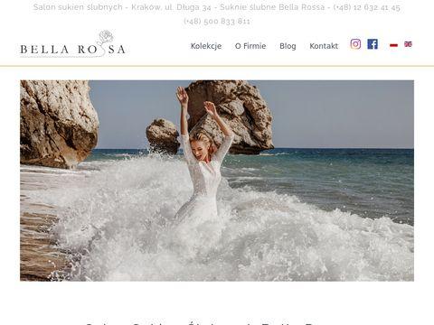 Bellarossa.pl salon sukien slubnych