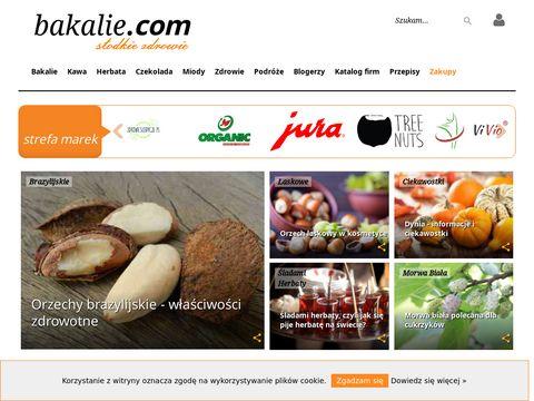 Bakalie.com portal ze zdrową żywnością