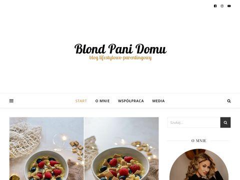 Blondpanidomu.pl blog rodzicielski