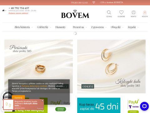 Bovem.com.pl zegarki ze złota