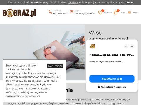 Bobraz.pl fotoobraz ze zdjęcia